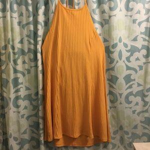 Forever 21 Yellow halter dress